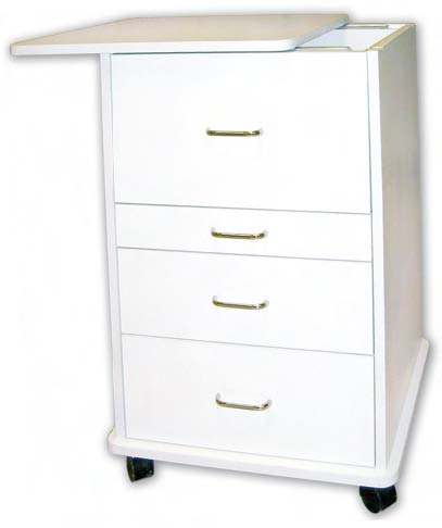 TPC ASSISTANT'S MOBILE CABINET, ALABAMA, WHITE